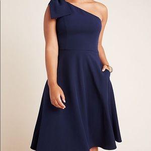NWT Gal Meets Glam Yvonne Navy Blue Dress Anthro